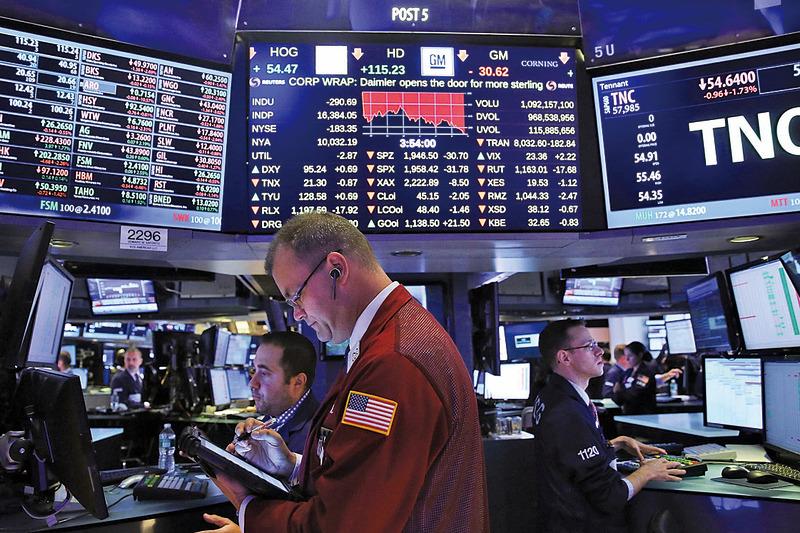 EPFR調查,資金持續由歐日轉向美股。圖為紐約證券交易所交易大廳。(Getty Images)