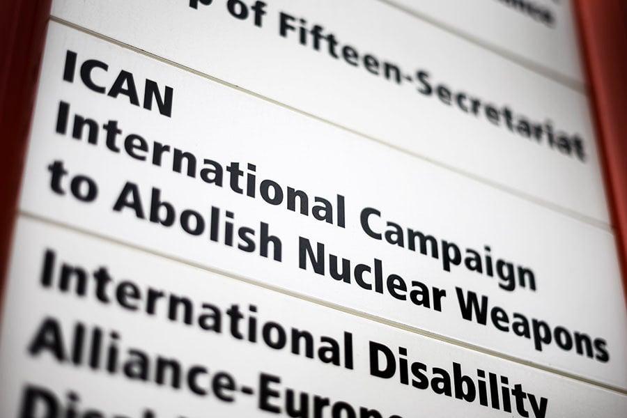 擁核強權反對聲中 五十國簽署禁核武條約