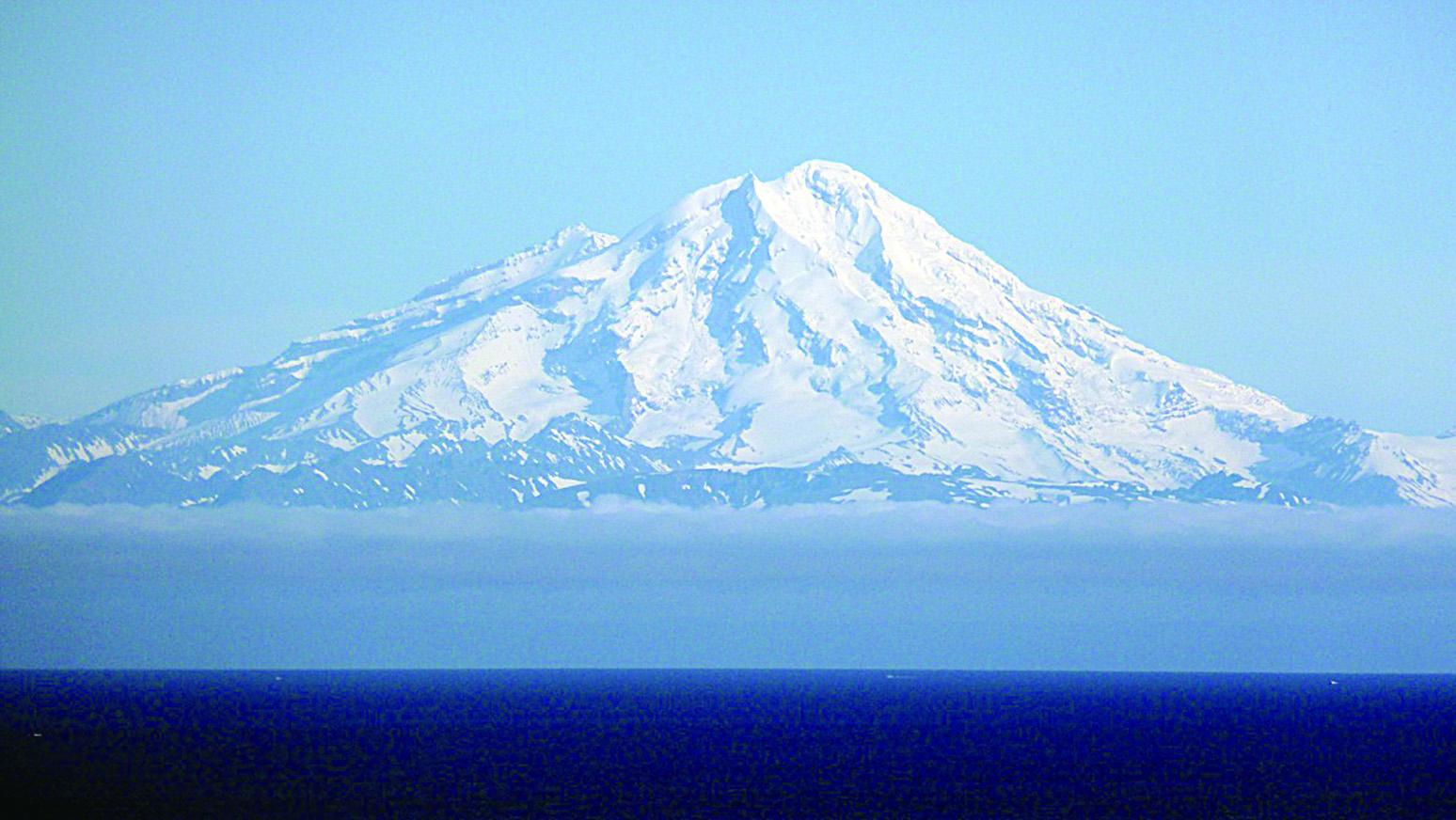 Mount Redoubt。(網絡圖片)