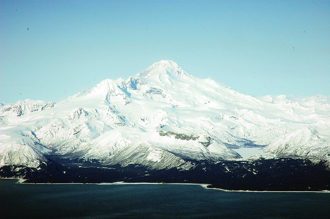 Mount Iliamna。(網絡圖片)