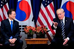 特朗普訪韓前夕 南韓宣佈擴大對北韓單邊制裁