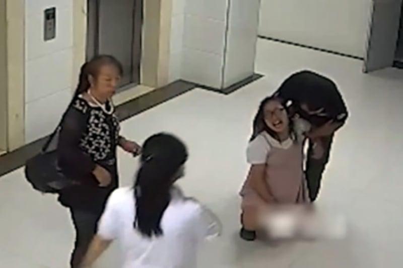 陝西榆林產婦馬茸茸在榆林一院綏德院區待產時墜樓身亡。(視像擷圖)