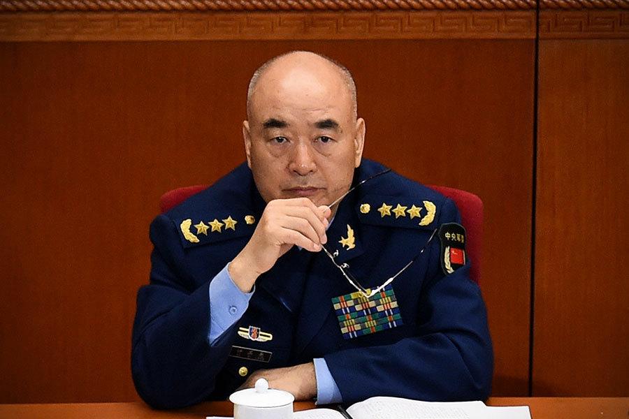 中共軍方人大代表團團長許其亮 曾獲超常提拔