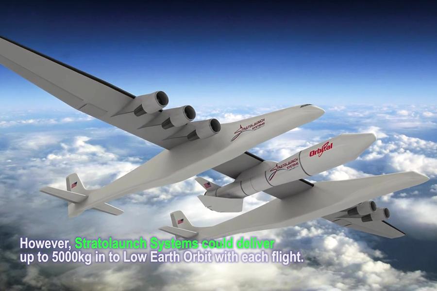 翼展逾117米 世界最大飛機完成引擎初試