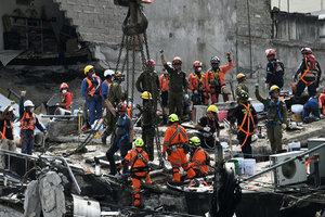墨西哥再遇6.1級地震 兩周三震