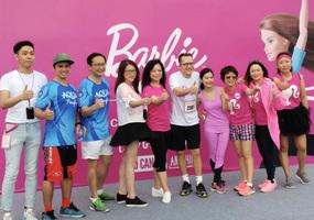 圖片新聞  Barbie Run雨中開跑 為慈善出力