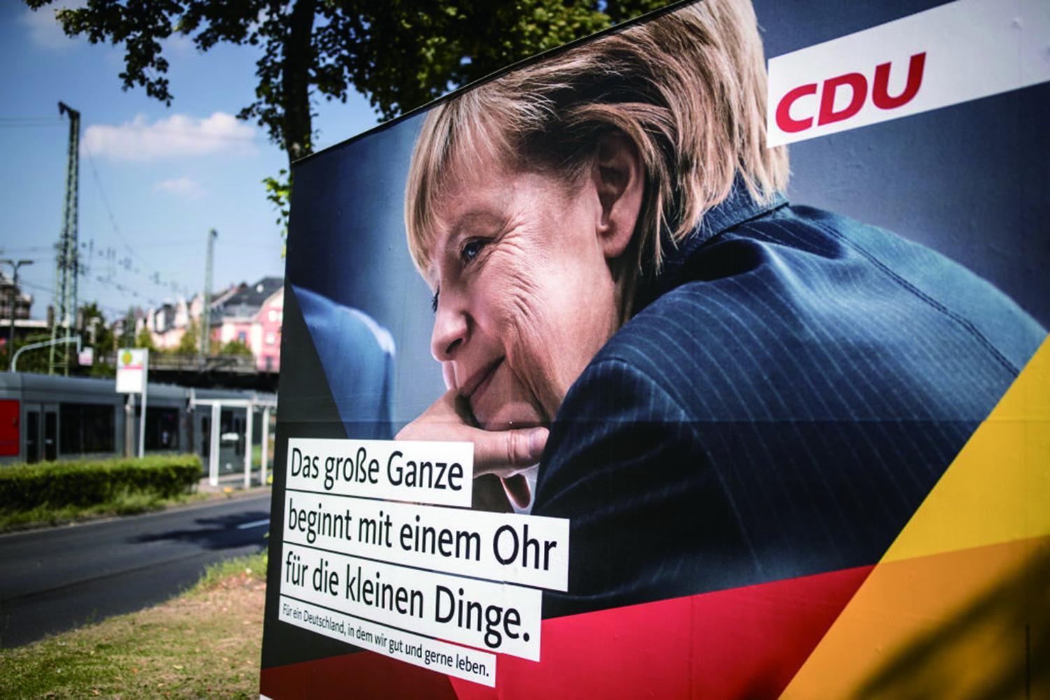 德國大選,默克爾承諾在2025年前達至全民就業,興建更多房屋及實施更多稅務寬免。(Getty Images)