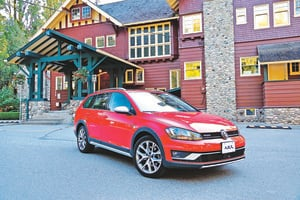 長高了的Golf Volkswagen Golf Alltrack