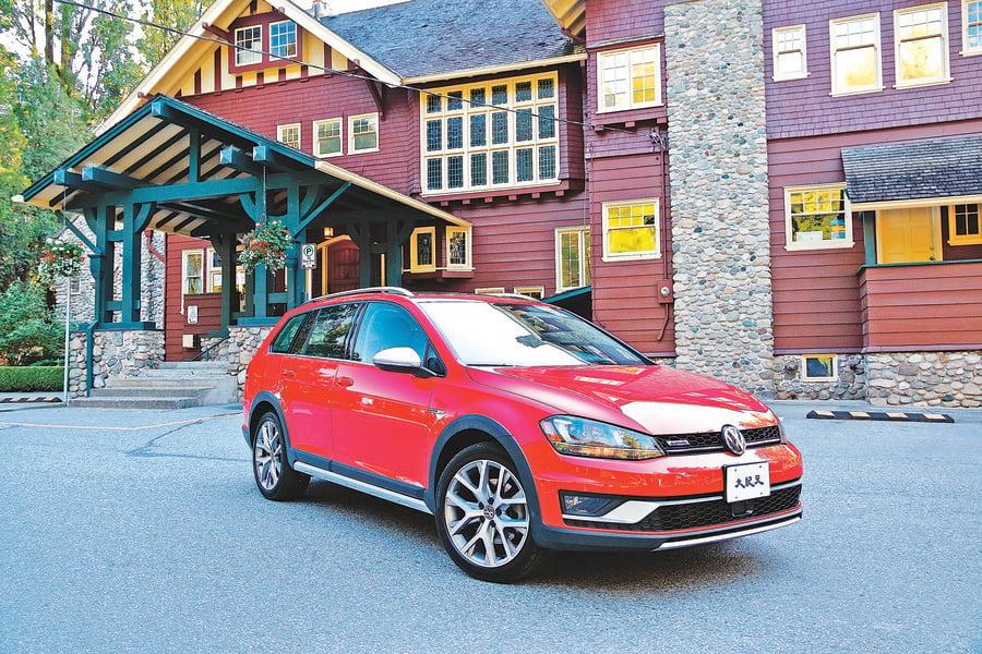 長高了的Golf Volkswagen Golf Alltrack
