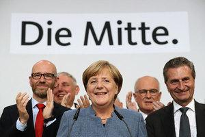 德國大選基本定局 默克爾雖勝難組閣