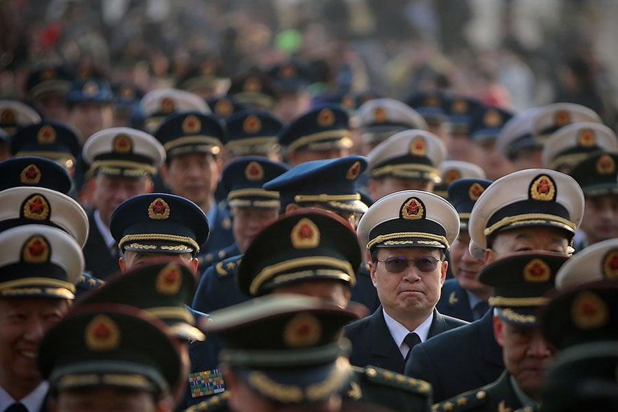 「十九大」前,陸媒揭各省市一把手的「一號任務」。(Feng Li/Getty Images)