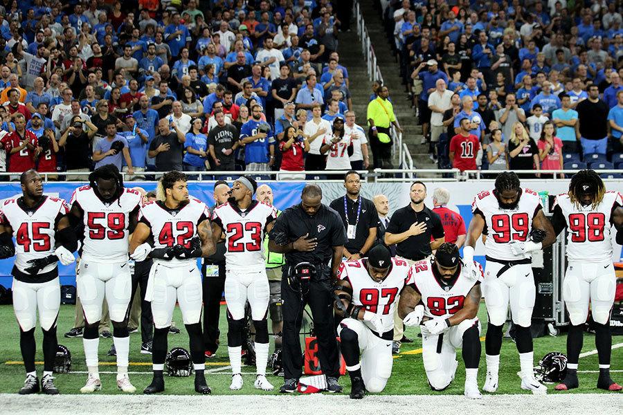 球員不敬美國國旗 特朗普籲抵制NFL賽事