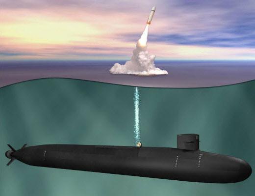 美國軍方宣佈將與英國共同研製新一代「哥倫比亞級」(Columbia-class submarine)核動力潛艇,預計將於2021年動工建造。(維基百科)
