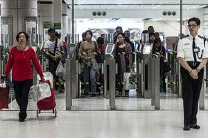 料924萬人次十一中秋出入境 羅湖日均26萬旅客