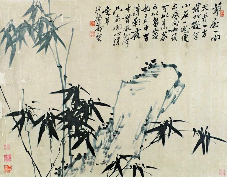 鄭板橋畫竹的啟示