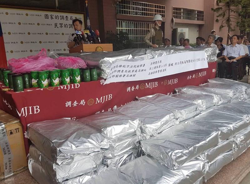 陸貨櫃藏安毒材料1.26噸 破高雄港緝毒紀錄