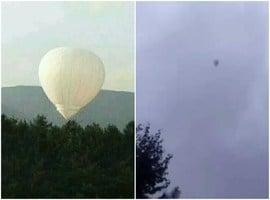 吉林男子乘氫氣球採松籽飛走 已失蹤五天