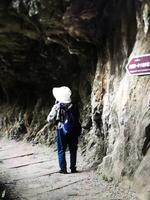 陸女遊客台太魯閣攬勝 失蹤後尋獲護送下山