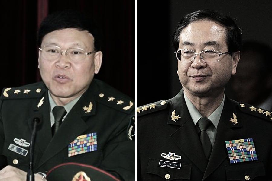 外媒追問房峰輝張陽去向 中共國防部避答