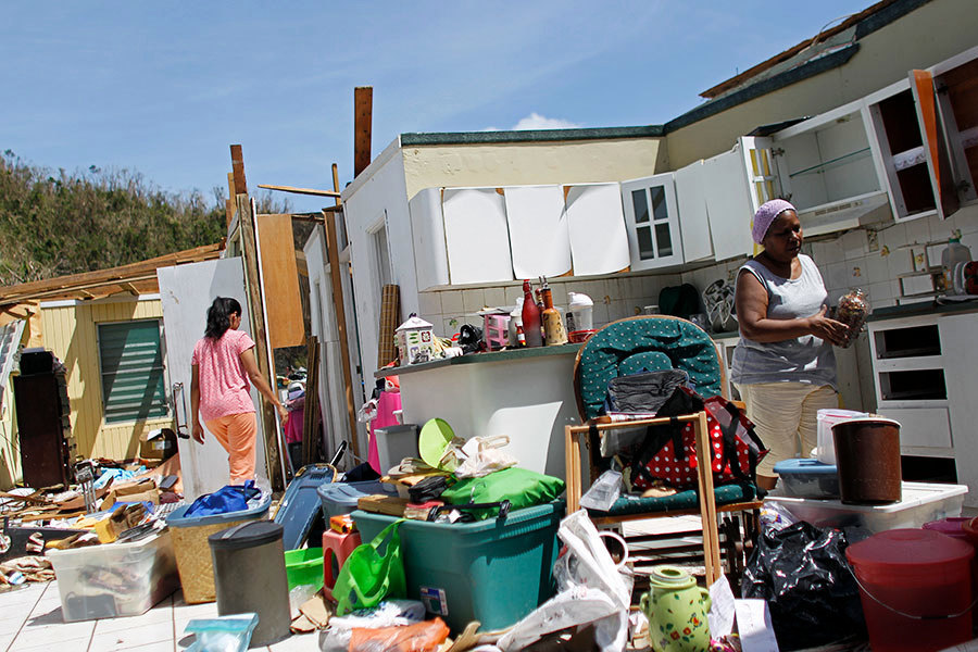 特朗普下周訪波多黎各視察災情 籲送水送糧