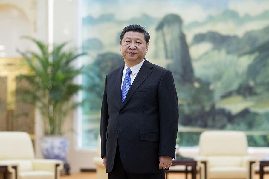 習近平是否會廢掉中共前黨魁江澤民出的先後逼退喬石和李瑞環的「潛規則」,成為熱議焦點。(LINTAO ZHANG/AFP/Getty Images)