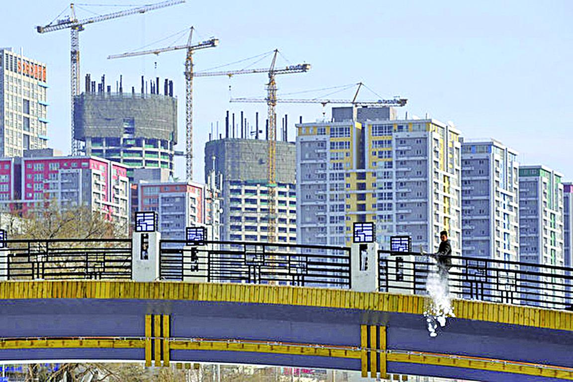 目前江蘇徐州房價連漲19個月,甚至找區長也買不到房。(AFP)