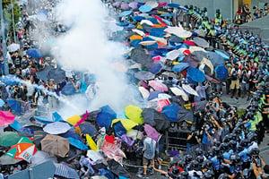 傘運三周年「香港人心不死」