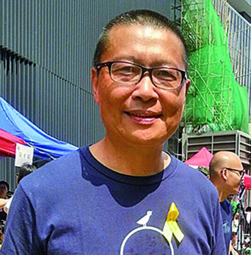 「佔中三子」之一的陳健民表示,對民主運動仍不會失望。(大紀元資料圖片)