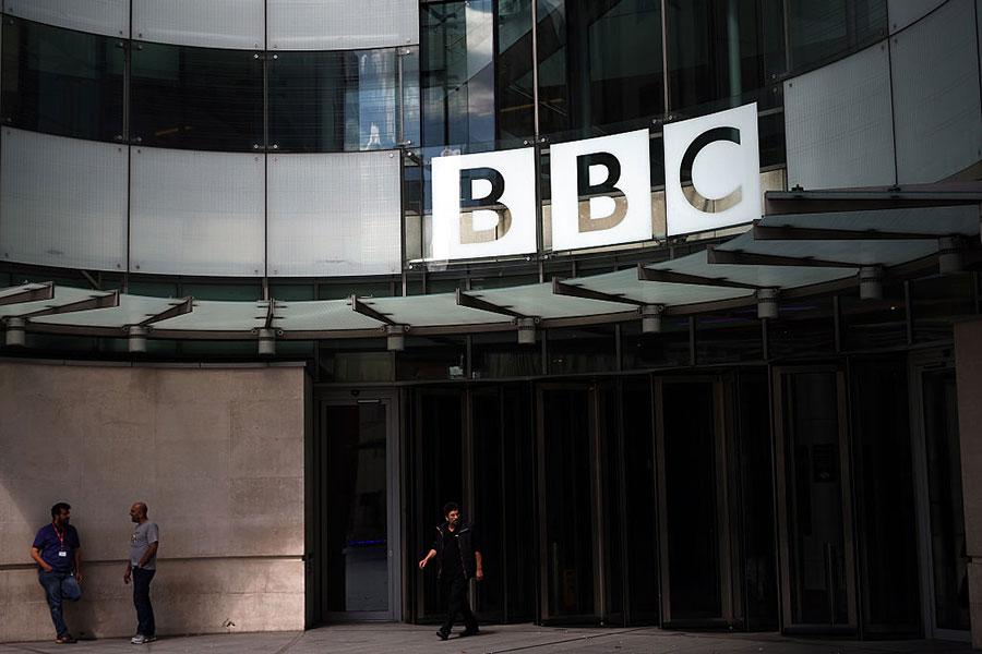 周一(9月25日),英國廣播公司國際台BBC新設立朝鮮語(韓語)頻道正式啟播。(Carl Court/Getty Images)