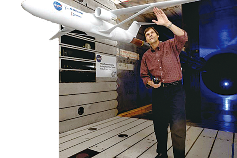 NASA研發新機翼省一半燃料