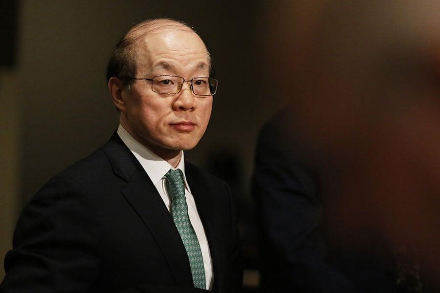 有消息稱,中共常駐聯合國代表劉結一將接替張志軍出任國台辦主任一職。(EDUARDO MUNOZ ALVAREZ/AFP/Getty Images)