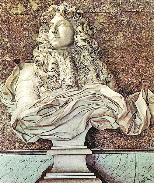 貝尼尼作品「路易十四像」。