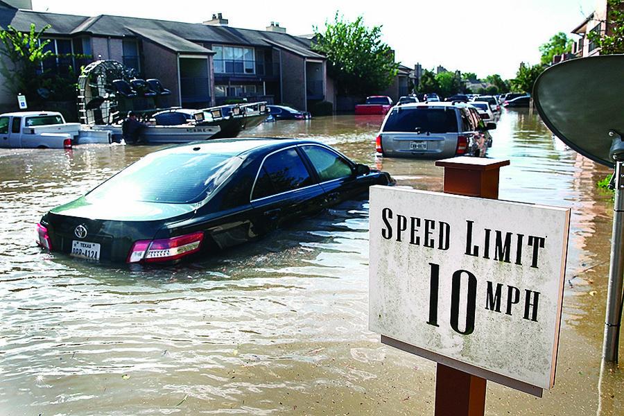 哈維颶風淹50萬輛車 這些車未來命運如何?