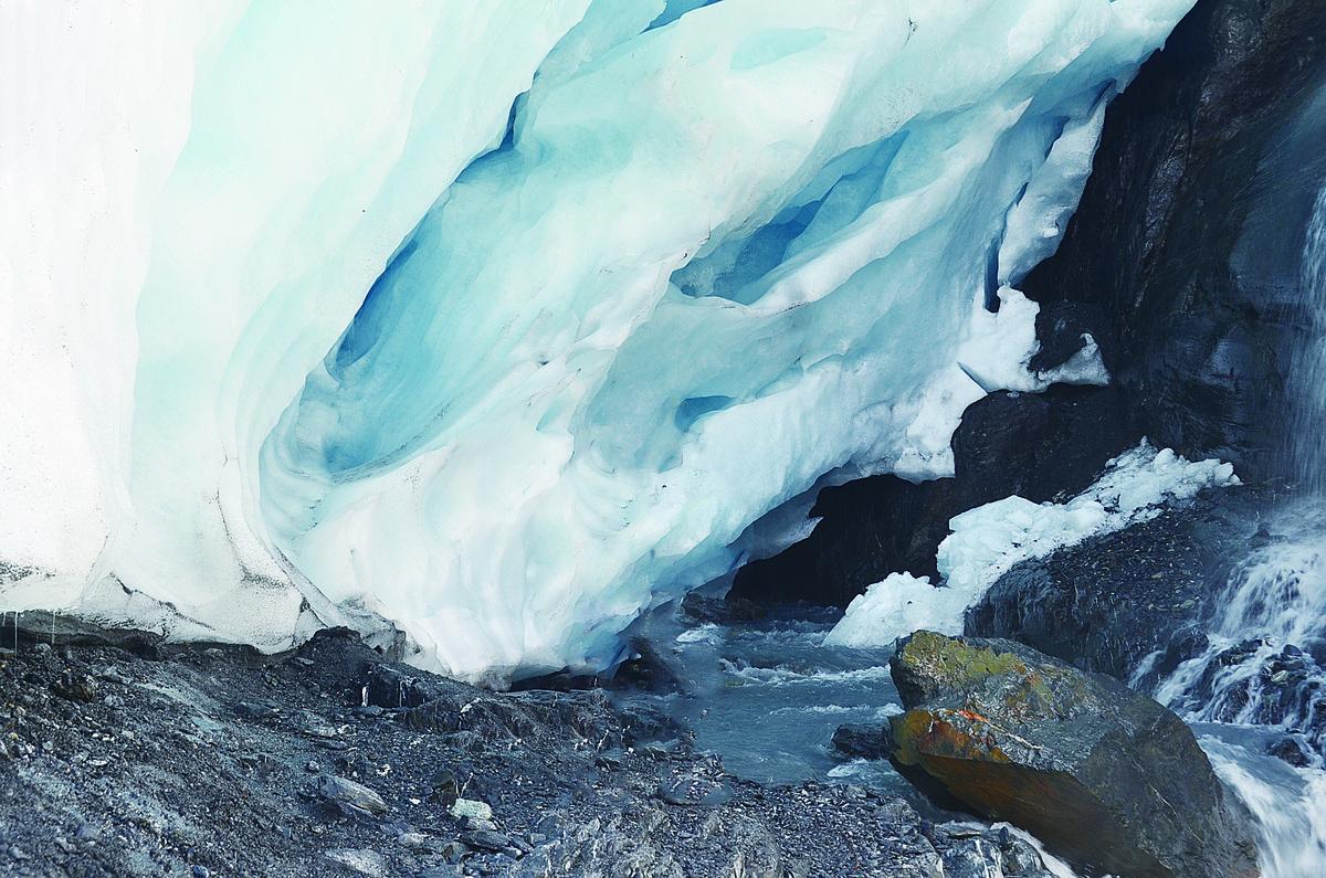 沃辛頓冰川。(網路圖片)