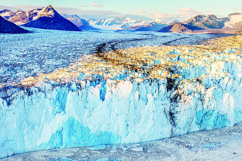 哥倫比亞大冰川。(網絡圖片)