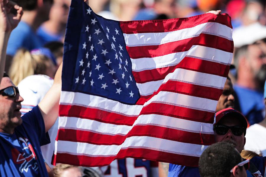 特朗普批評球員下跪蔑視國旗 NFL風波始末