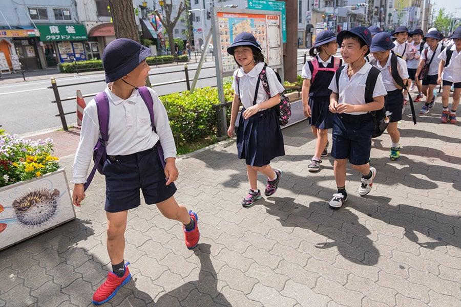 日本的小學生。(iStock.com)