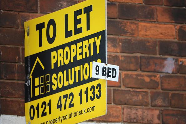 如果全英國有一半私人房東沒有報稅,英國政府每年損失稅收2億鎊。圖為示意圖。(Christopher Furlong/Getty Images)