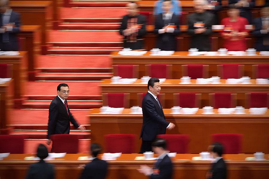 中共十九大召開在即,暗箱操作下的新一屆常委名單仍是一團迷霧。(Feng Li/Getty Images)