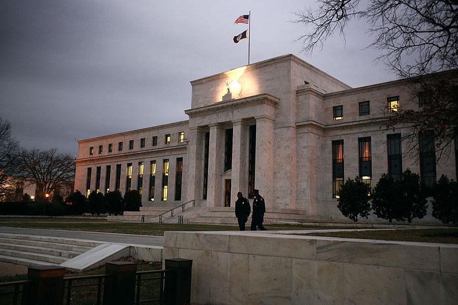 位於華盛頓DC的美聯儲總部大樓。(Mark Wilson/Getty Images)