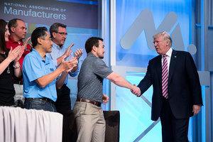 特朗普談稅改:全面利好勞工、企業和國力