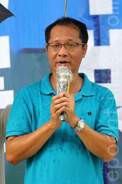 支聯會副主席蔡耀昌。(李逸/大紀元)