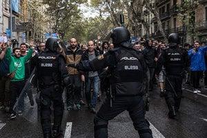 西班牙加泰獨立公投 警民衝突釀數百傷