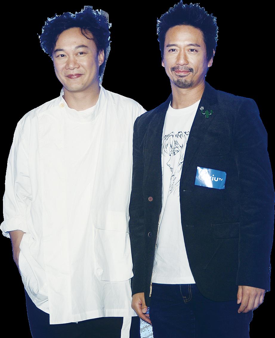 陳奕迅與Eric Kwok在劇中為爭女大打出手。(宋碧龍/大紀元)