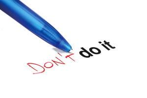 成功人士絕不會做這9件事