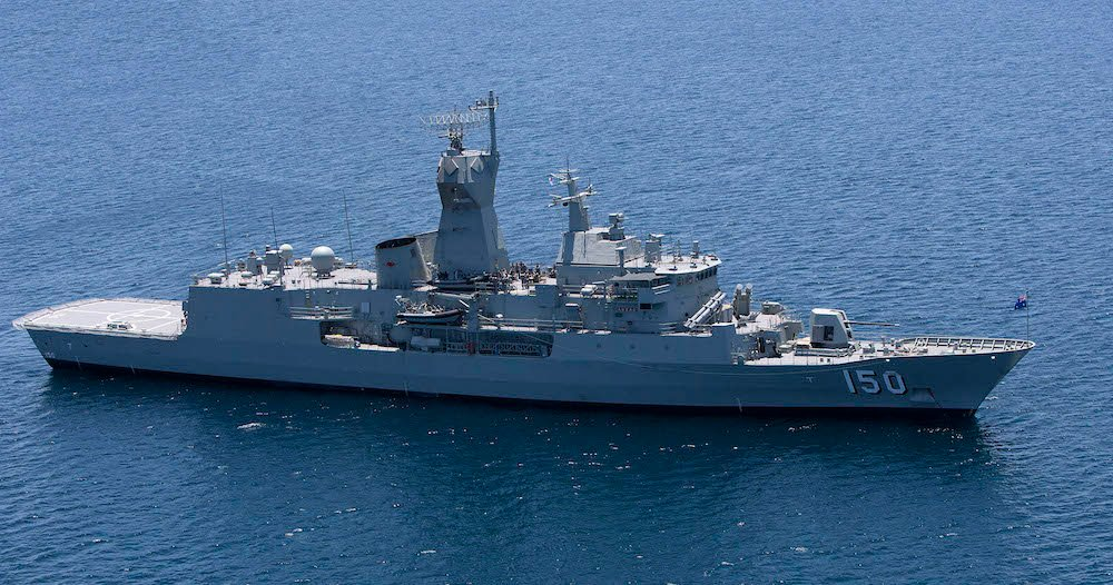 澳洲將斥資350億元打造新型防導彈護衛艦隊