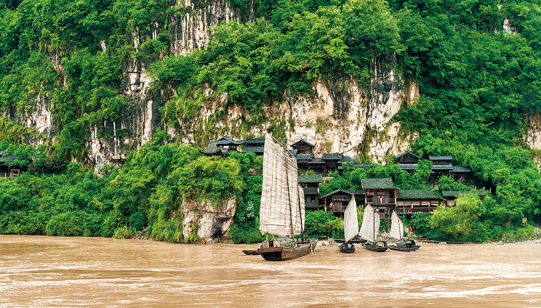 長江渡船。(Fotolia)