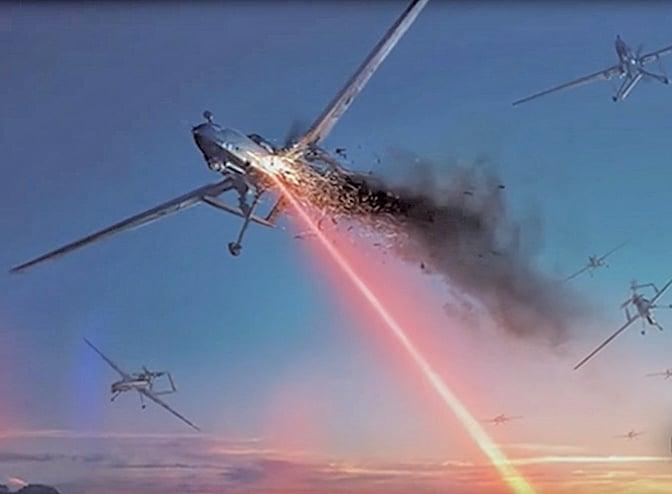 隱形又致命 美激光武器數秒內擊毀無人機