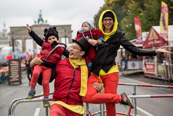 柏林慶祝德國統一日。(Omer Messinger/Getty Images)