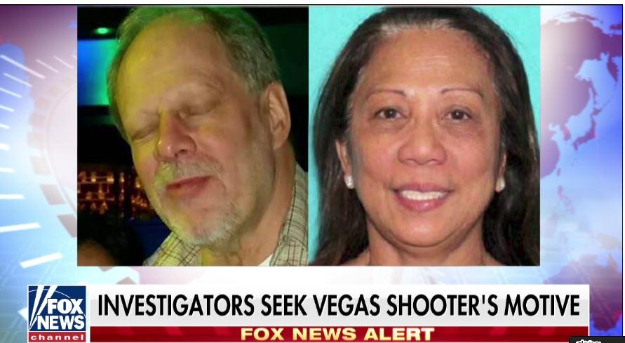 槍手(左)和他的女友丹利。(視像擷圖)